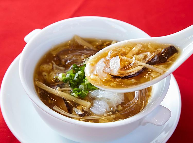 黄金のふかひれスープ