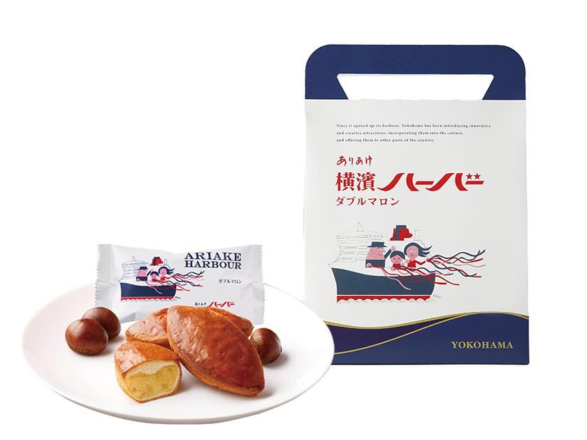 横浜博覧館マーケット試食会ダブルマロン5個包装